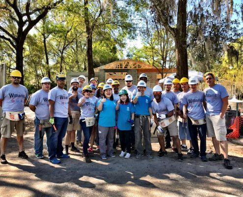 Construction Begins on First of Two Habitat for Humanity Homes Funded by Tampa Honda / Williams Automotive Group
