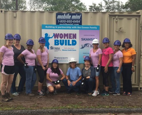Construction Underway on Habitat Home to be Built by 130+ Women