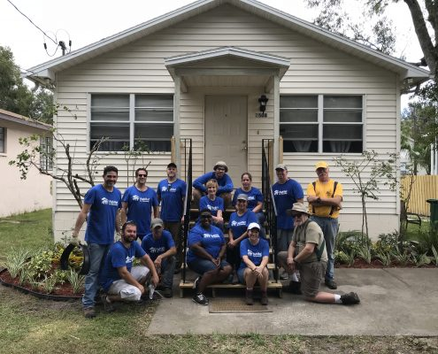 Mattox family partners with Crown Castle to complete Home Preservation