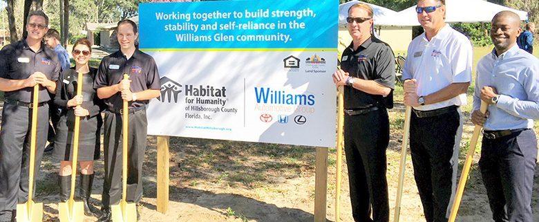 New Habitat Williams Glen community kicks off construction with groundbreaking