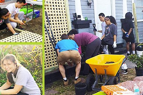 Tampa Catholic's Habitat Club helps with home preservation
