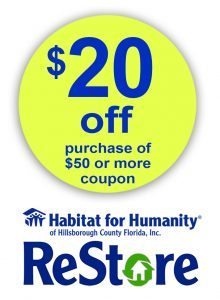 All Profits From Our Re Go Directly To Fund The Mission Of Habitat For Humanity Hillsborough County