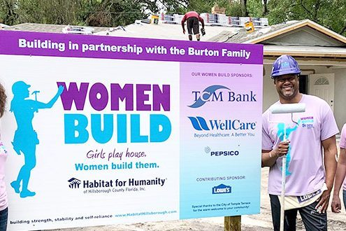 Volunteers and corporate partners raise more than the roof for Habitat Hillsborough's Women Build