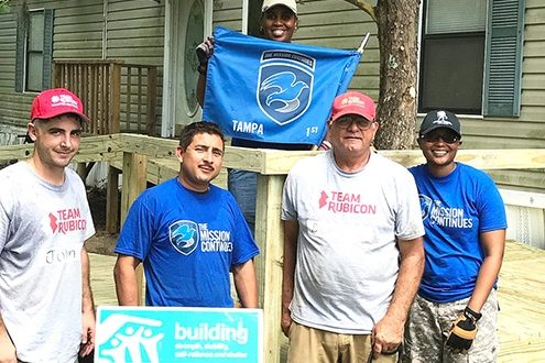 Habitat's HPP ramps up to help disabled vet