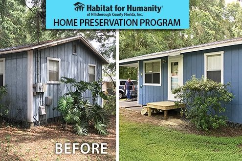 Habitat Hillsborough works in partnership with Thrivent Financial