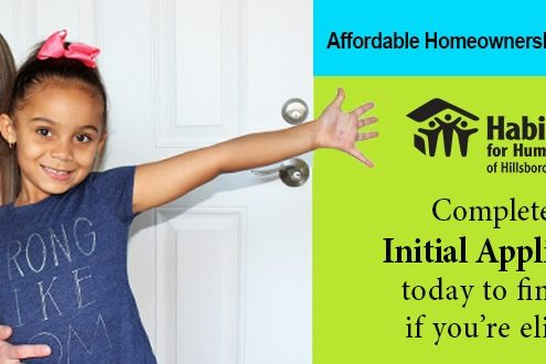 Habitat Hillsborough Homeowner Opportunity Initial Application Process