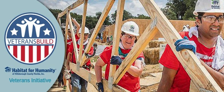 Seeking volunteers and sponsors for Habitat Hillsborough Veterans Build!