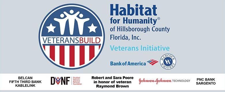 Habitat Hillsborough hosts eight-day Veterans Build service event