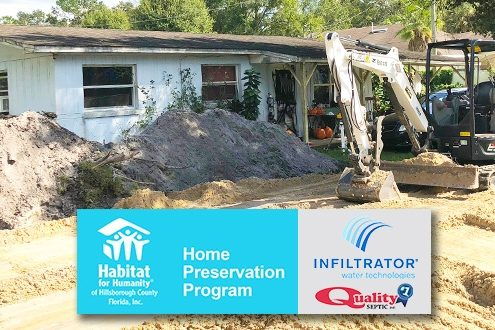 Habitat's Home Preservation repairs, replaces and rejuvenates local homeowner properties.