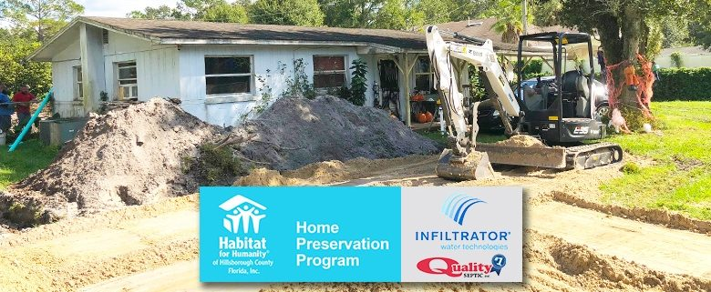 The Big Dig – Home Preservation Program helps veteran replace septic system and more!