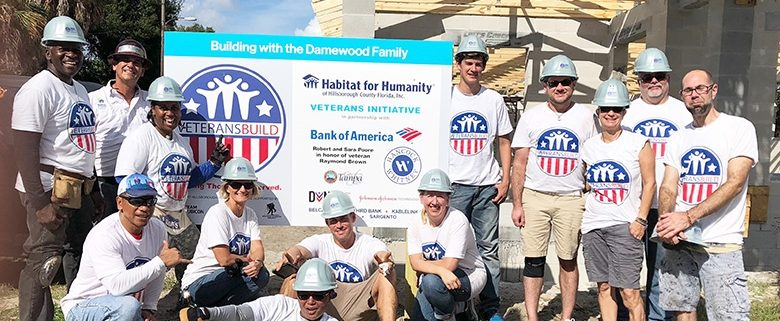 Habitat's first Tampa Veterans Build home built by veterans for a veteran is completed