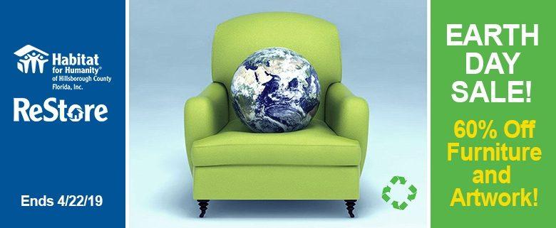 Huge Earth Day Sale at Habitat Hillsborough ReStores