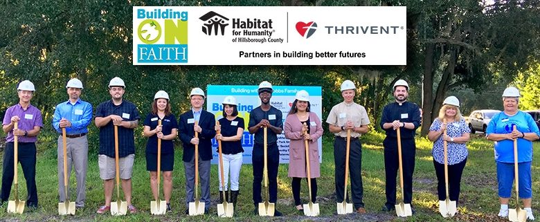 Habitat breaks ground on its Faith Build for two homes