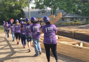Women Build 2019 raising the roof!