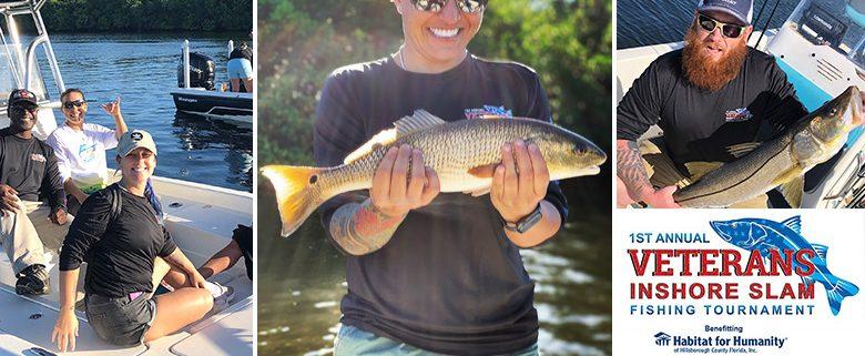 Sponsors host Wounded Warriors at Habitat Hillsborough's fishing tournament