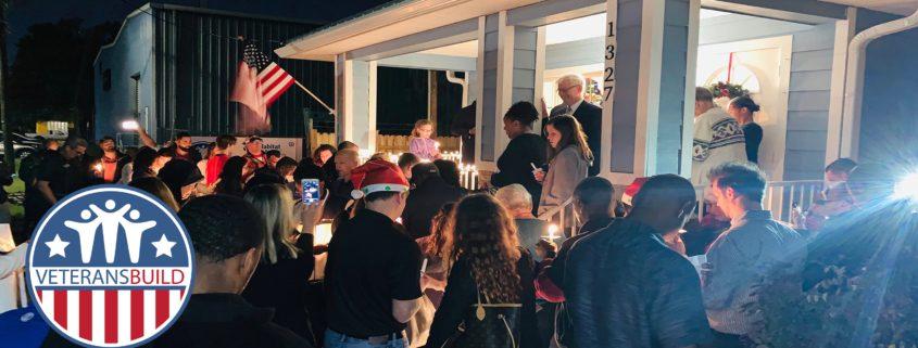 Candlelight Celebration Caps Off Veterans Build 2019