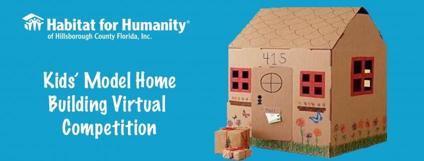 Kids' Model Home Building Virtual Competition
