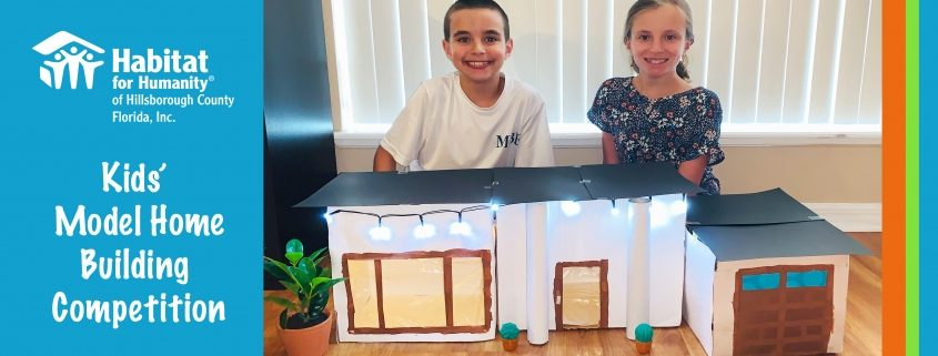 Congrats to our Kids' Home Build design winners!