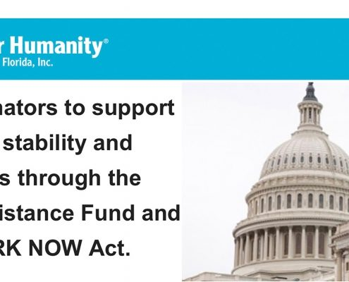 ACT NOW: Help us ensure housing stability in our community.