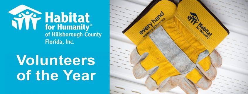 Celebrating Our Habitat Hillsborough 2020 Volunteers of the Year