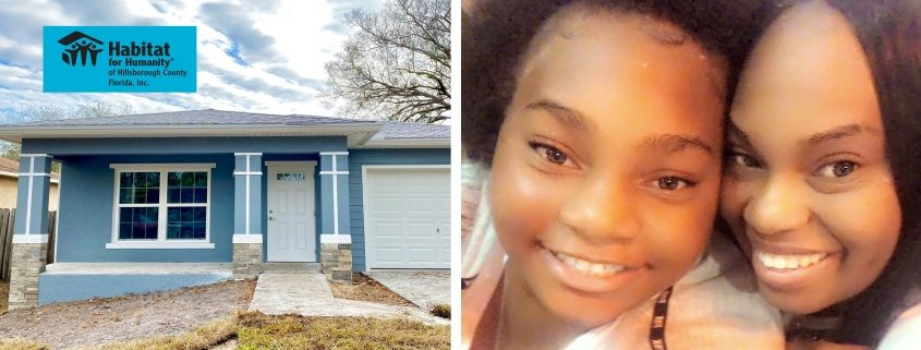 Habitat Homeowner's Daughter Talks About What Home Means to Her