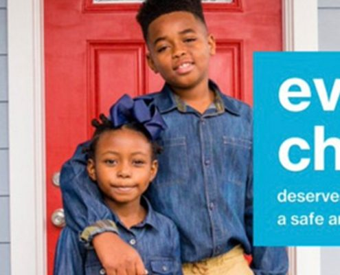 Habitat homeowner talks about how her home is helping her family cope during the pandemic.